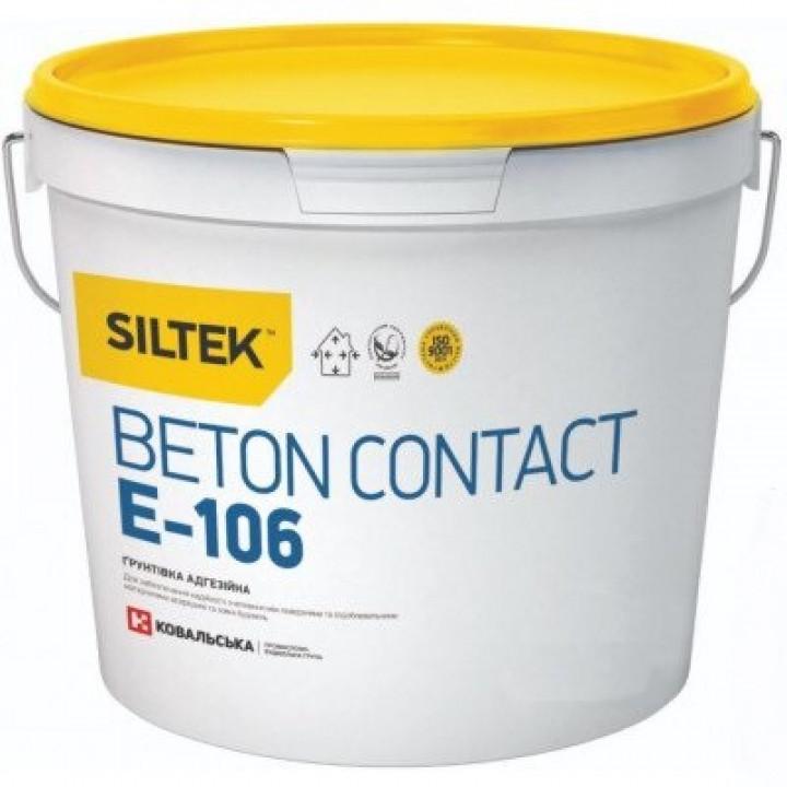 Грунтовка бетоноконтакт SILTEK Е-106 (5 л.)