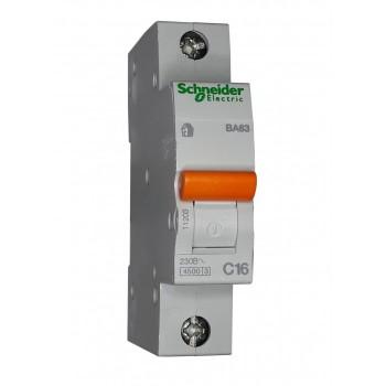 Выключатель автоматический Schneider 1П 16А