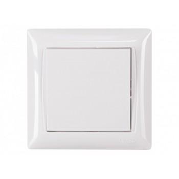 Выключатель LUXEL Primera 3002 (белый)