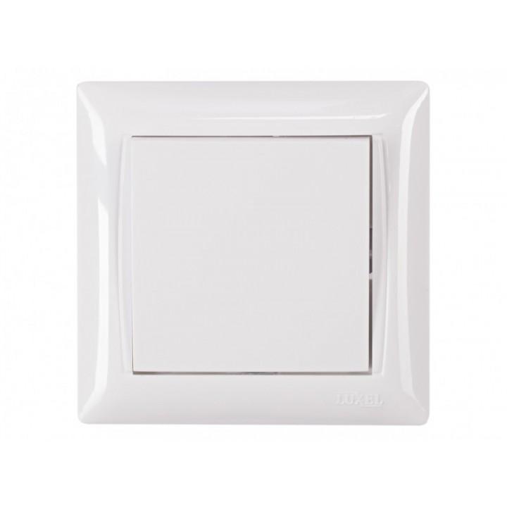 Вимикач LUXEL Primera 3002 (білий)