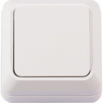 Выключатель накладной LUXEL Opera 2002 (белый)