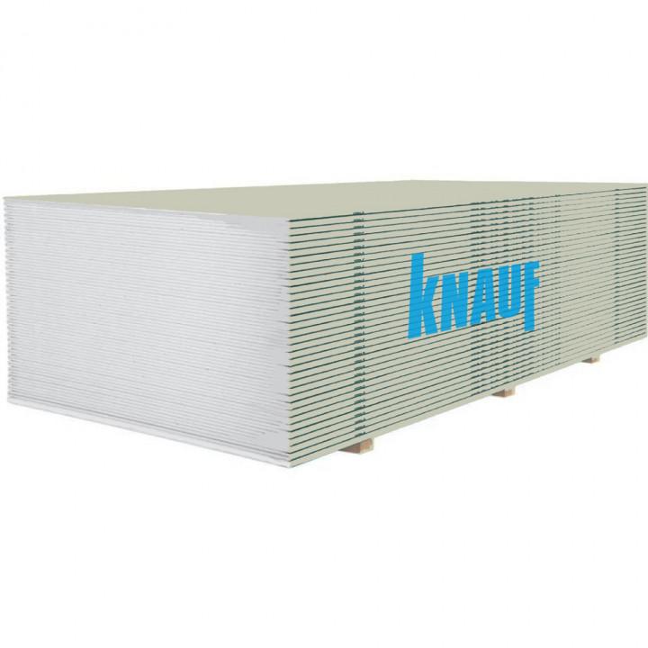 Гіпсокартон стельовий Knauf 1200х2000х9.5мм