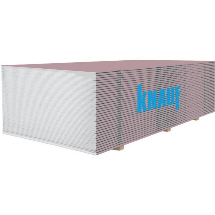 Гіпсокартон вогнестійкий Knauf 1200х2500х12.5мм