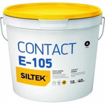Грунт-краска контактная Siltek E-105 Contact (10 л.)