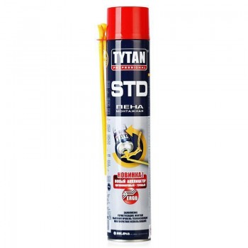 Пена монтажная Tytan О2 ЕRGO STD зима (750мл)