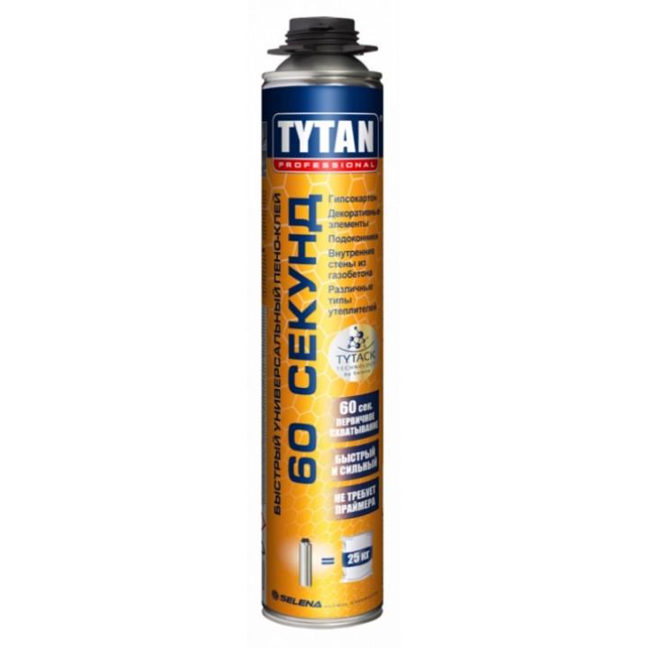 Піна-клей Tytan Professional 60 сек GUN (750мл)