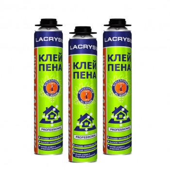 Пена-клей профессиональная ЛАКРИСИЛ (Lacrysil) (850мл/950гр)