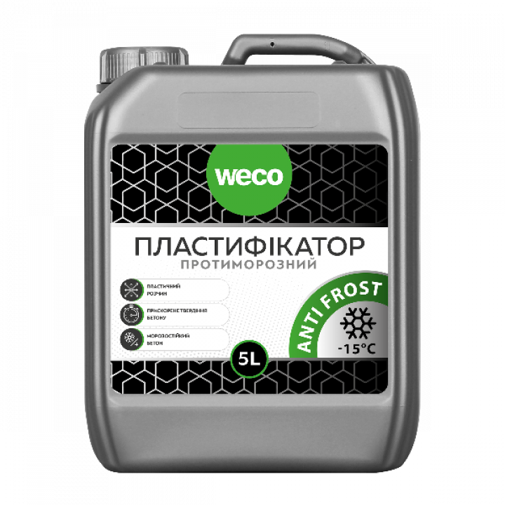"Пластификатор ""Противоморозный ANTIFROST"" WECO (10л)"