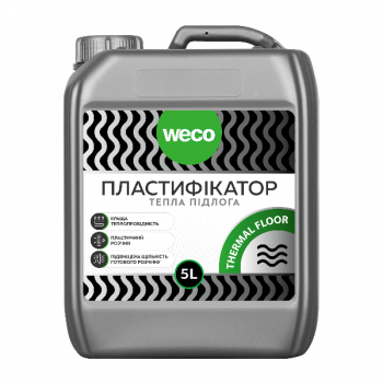 "Пластификатор ""Для теплого пола THERMAL FLOOR"" WECO (5л)"