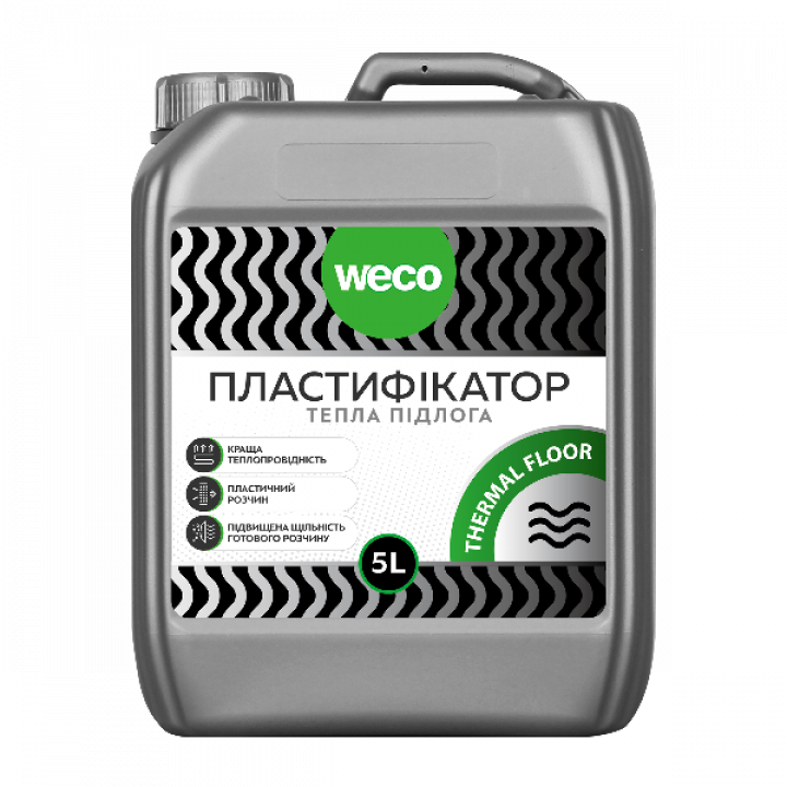 "Пластификатор ""Для теплого пола THERMAL FLOOR"" WECO (10л)"