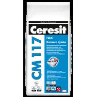 Клей для плитки эластичный Церезит СМ-117 White (Ceresit CM-117) (25 кг.)