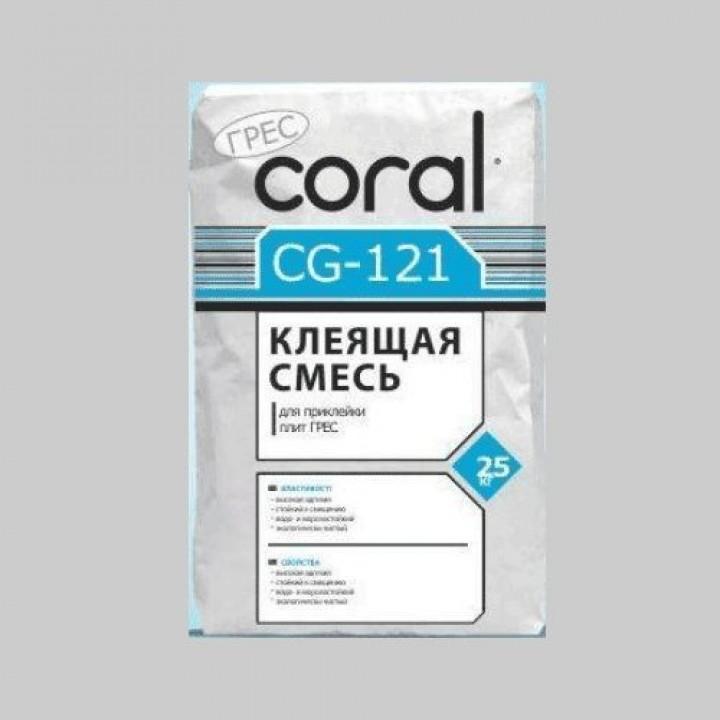 Клей для керамогранита Корал