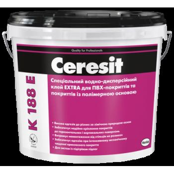 Специальный клей EXTRA для ПВХ-покрытий Церезит K-188 E (Ceresit K-188 E) (12 кг.)