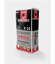 Клей для плитки, керамогранита и полов с подогревом WALLMIX K-14