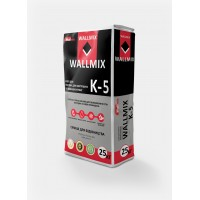 Клей для плитки для внутренних и наружных работ Wallmix К-5 (25кг)