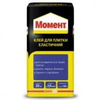 Клей для плитки Момент эластичный (25 кг.)