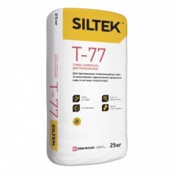 """Клей для теплоизоляции """"Универсал"""" SILTEK Т-77 (25 кг.)"""