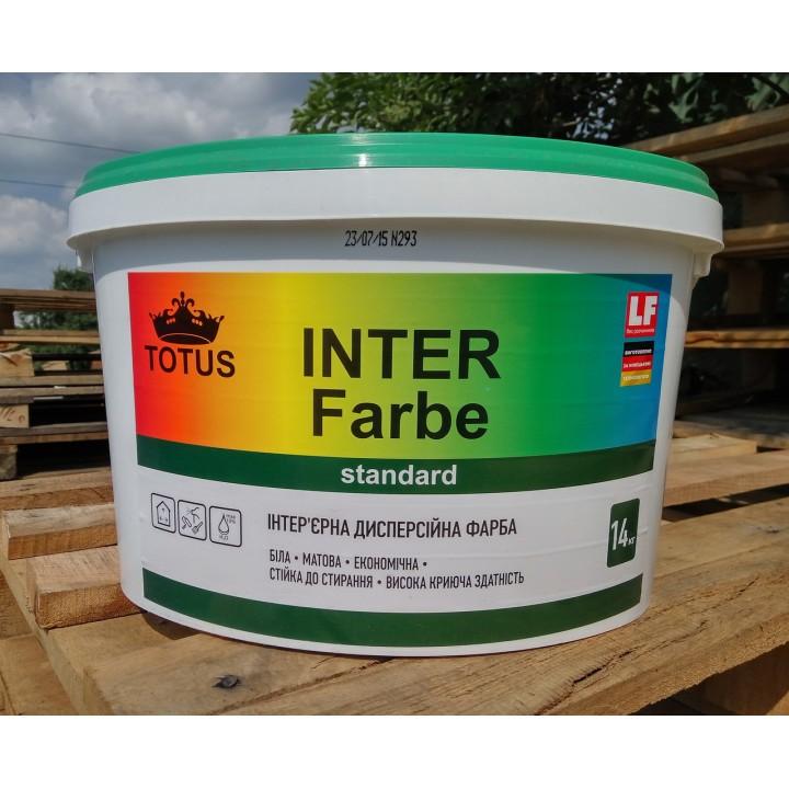 Краска интерьерная дисперсионная TOTUS Inter Farbe (7 кг.)
