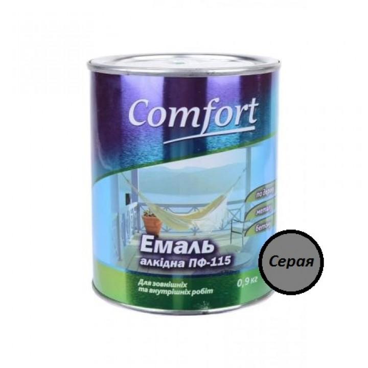 Эмаль Комфорт (Comfort) ПФ-115 серая (2,8кг.)