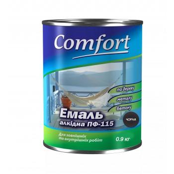 Эмаль Комфорт (Comfort) ПФ-115 черная (2,8кг.)