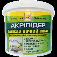 Фарба інтер'єрна зносостійка BUILDER АКРІЛІДЕР (14 кг)