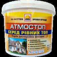 Фарба фасадна атмосферостійка BUILDER АТМОСТОП (14 кг)