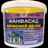 Фарба фасадна BUILDER ФАНФАСАД (14 кг)