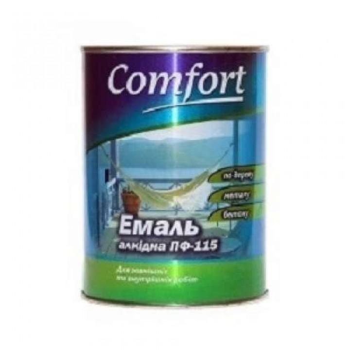 Эмаль Комфорт (Comfort) ПФ-115 зеленая (2,8кг.)