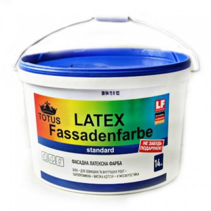 Фасадна латексна фарба TOTUS Latex Fassadenfarbe (14кг)