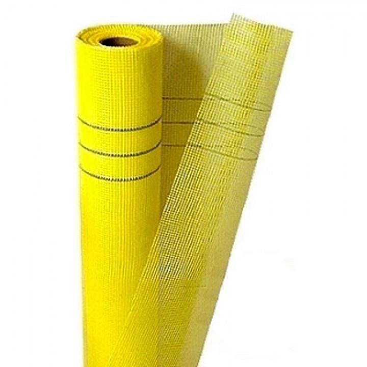 Сітка штукатурна жовта 5х5 (140 г / м2)