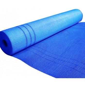 Сетка штукатурная щелочестойкая синяя 6х5 (145 г/м2) 50м.кв.