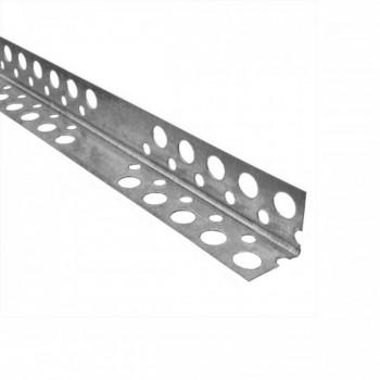 Уголок алюминиевый перфорированный (2,5 м)