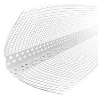 Куточок пластиковий з сіткою 10х10 см (3 м)