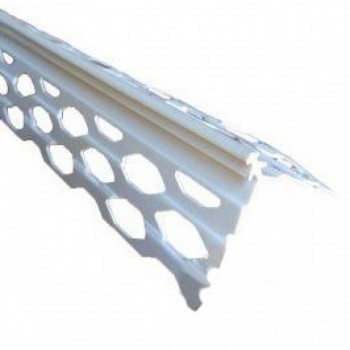 Уголок ПВХ для мокрой штукатурки (3 м)