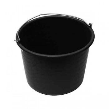 Ведро пластмассовое черное (10 л.)
