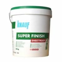 Шпаклевка готовая SuperFinish Sheetrock KNAUF (КНАУФ) 28кг.