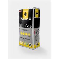 Штукатурка цементно-известковая для машинного нанесения Wallmix С-16 (25кг.)