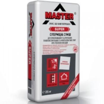 Еластичний клей для систем теплоізоляції Мaster-Super (25 кг.)