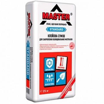 Клей для плитки Master стандарт (25 кг.)