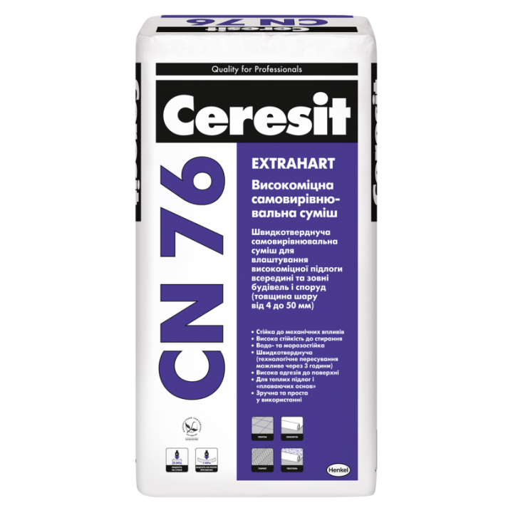 Високоміцне покриття для підлоги Церезіт CN-76 (Ceresit CN-76) (25кг.)