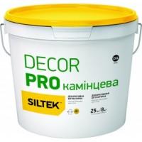 """Штукатурка декоративная """"камешковая"""" SILTEK Decor Pro зерно 1.5мм база DА (25 кг.)"""