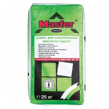 Самовыравнивающаяся смесь для пола MASTER HORIZONT (толщина 3-15 мм.) (25 кг.)