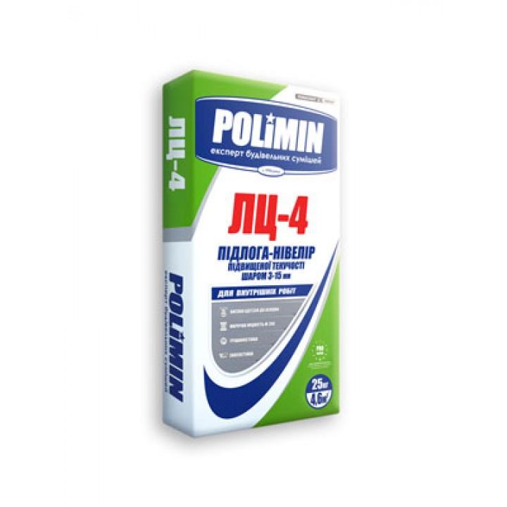 Пол-нивелир Полимин ЛЦ-4 (Polimin) (25 кг.)