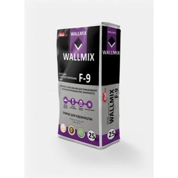 Клей для пенополистирола Wallmix F-9 (25кг.)