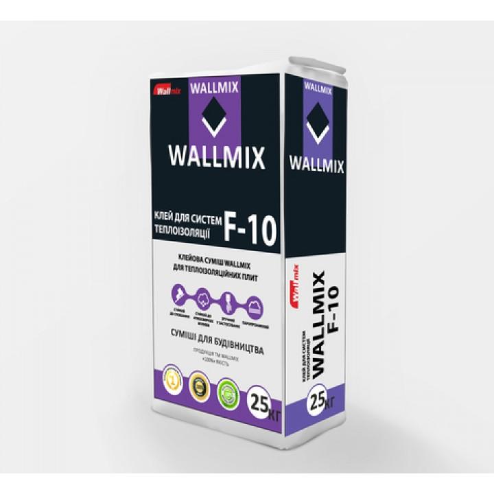 Клей для пенополистирола и минеральной ваты Wallmix F-10 (25кг.)