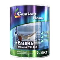Эмаль Комфорт (Comfort) ПФ-115 светло-серая (2,8кг.)