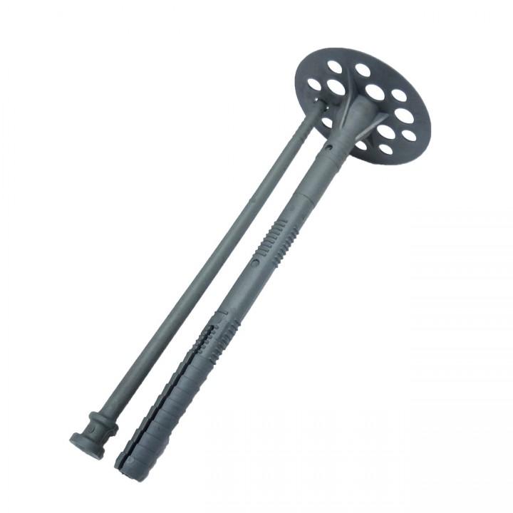 Крепление для теплоизоляции 10*70 мм. (пластиковый гвоздь)