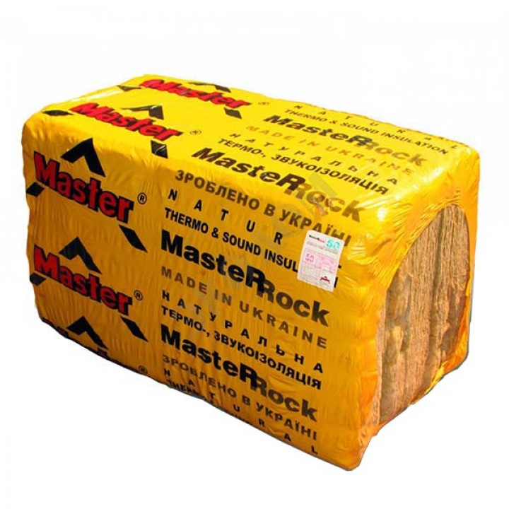 """Плита минераловатная """"Мастер -Рок 30"""" 50 мм. (6 м.кв., 10 листов/уп.)"""